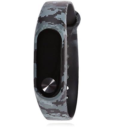 Amazon.com: hongfei Mi Band 2 Bands Replacement Wristbands ...