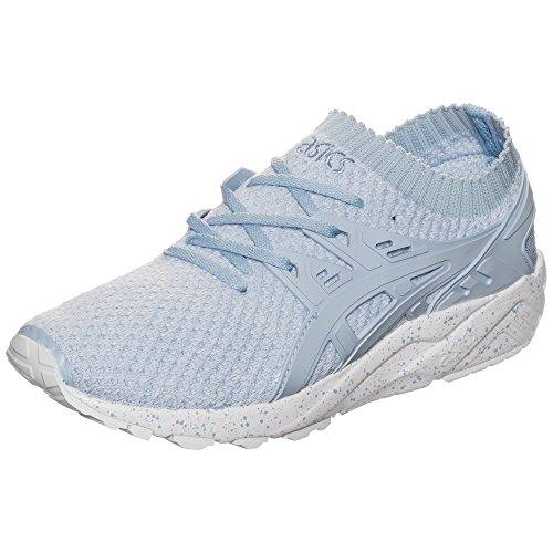 Femme Gel Sneakers Weiß Basses Knit Trainer Bleu Hellblau Asics kayano Weiß hellblau q7xdTSwY7