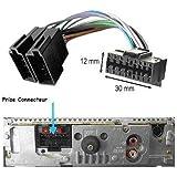 Câble connecteur adaptateur ISO pour autoradio SONY 16 broches