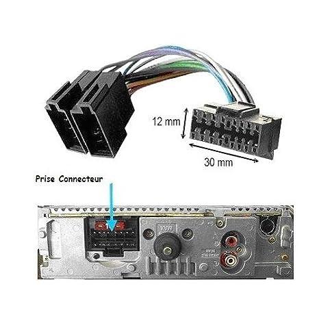 Schema Collegamento Autoradio Pioneer : Techexpert connettore adattatore iso 16 pin per autoradio sony