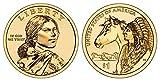 2012 D Sacagawea Dollar Trade Routes of