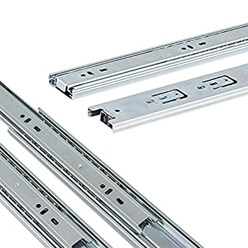 Houseables Ball Bearings Full Extension Drawer Slides, 20-Inch (10 Pairs)