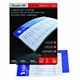 Swingline GBC Thermal Laminating Sheets / Pouches, Letter Size, 3 Mil, EZUse, 100-Count (3745003)