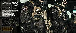 Men Military Airsoft Paintball BDU Pants Combat Gen3 Tactical Pants with Knee Pad MultiCam Black