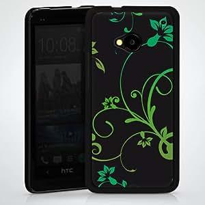 Carcasa Design Funda para HTC One M7 HardCase black - Matrix Ornamente