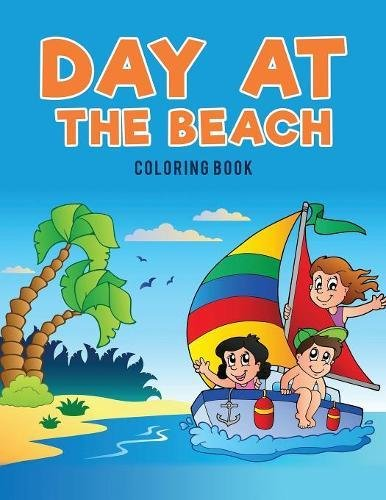 Day at the Beach Coloring Book pdf epub