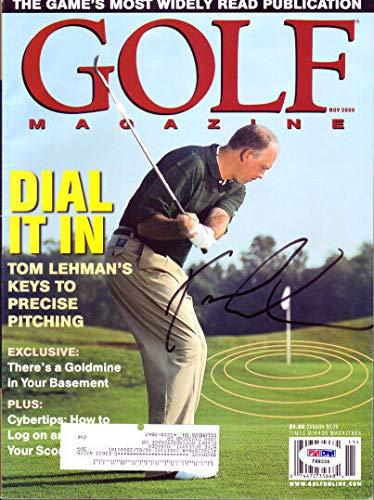 Tom Lehman Memorabilia - 2000 Tom Lehman Autographed Signed Memorabilia Golf Magazine - PSA/DNA Authentic