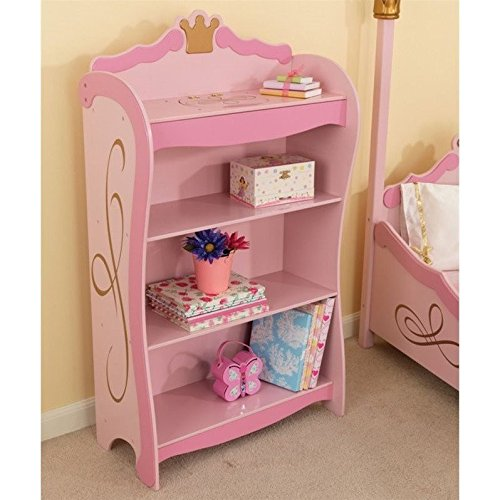 Princess Bookcase (Girls Furniture Shelf)