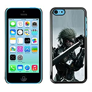 SKCASE Center / Funda Carcasa - Cyebr Guerrero;;;;;;;; - iPhone 5C