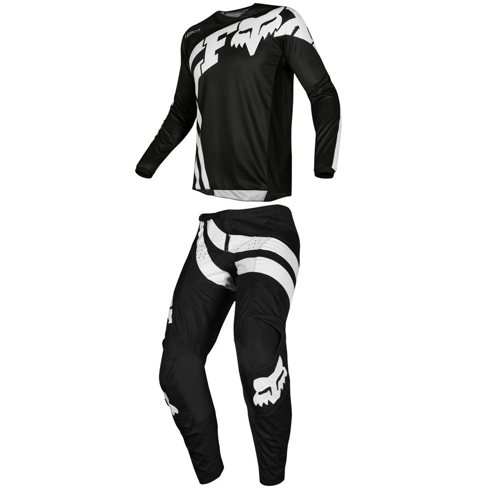 Fox Racing 2019 180 COTA Jersey and Pants Combo Offroad Gear Set Adult Mens Black XL Jersey/Pants 32W