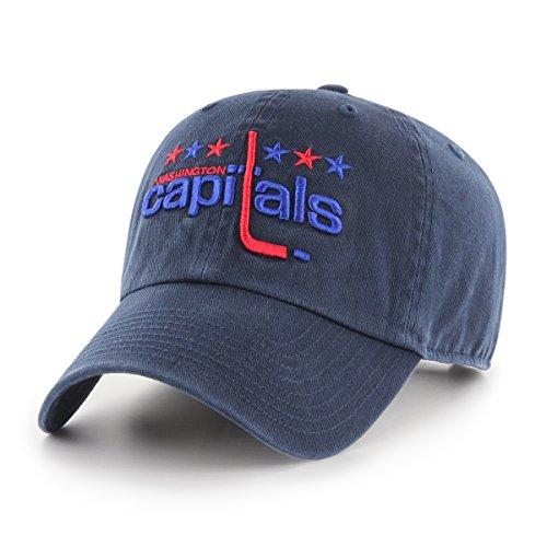 NHL Washington Capitals Male OTS Challenger Adjustable Hat, Navy, One Size