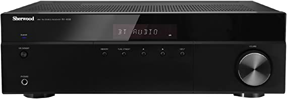 Sherwood RX4508 200W AM/FM Stereo Receiver with Bluetooth