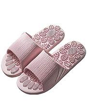 Veluckin Unisex Erwachsene Fußmassage-Hausschuhe