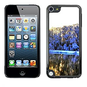 LECELL -- Funda protectora / Cubierta / Piel For Apple iPod Touch 5 -- Very beautiful snow --
