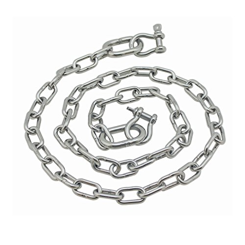 Extreme Max 3006.6578 BoatTector Stainless Steel Anchor Chain, 1/4