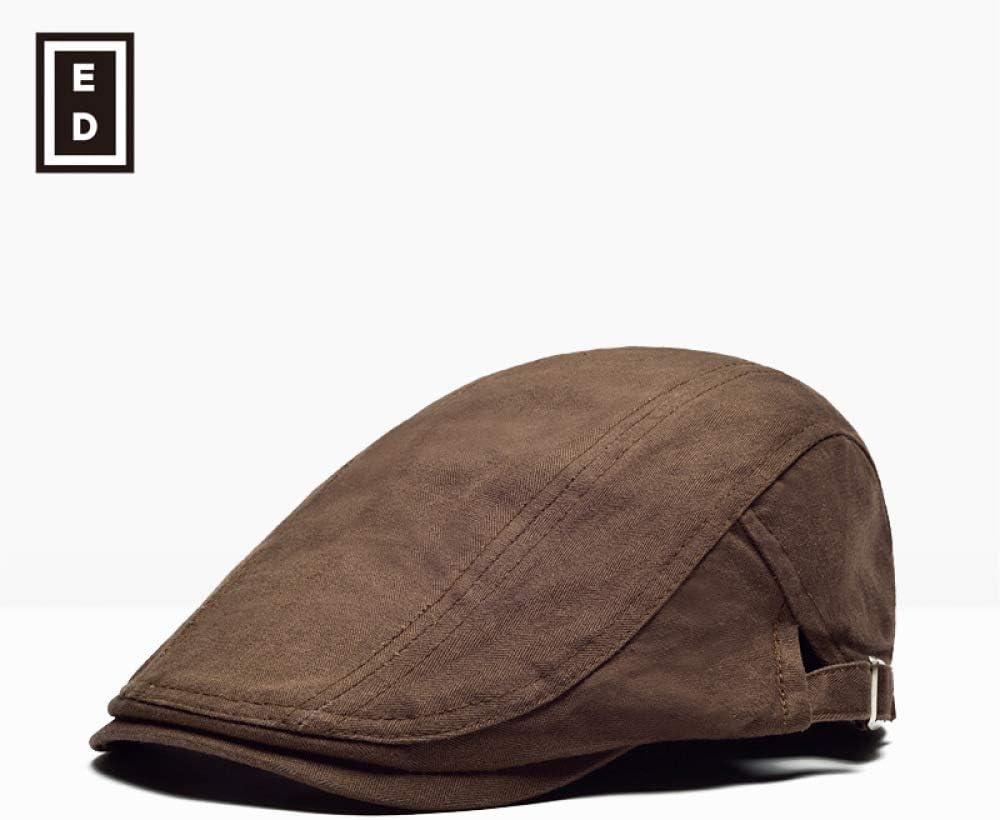 sdssup Gorra Gorra Boina Transpirable Sombrero marrón Ajustable ...