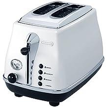 Delonghi CTO2003W 2 Slice Toaster, White