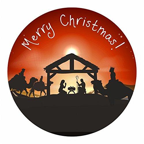 Nativity Christmas themed Stickers-AMZ
