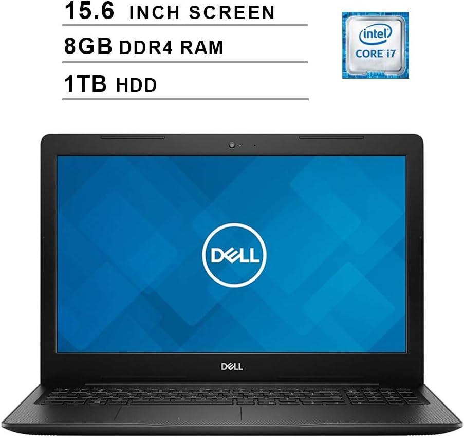 2020 Newest Dell Inspiron 15 3583 15.6 Inch HD Laptop (8th Gen Inter 4-Core i7-8565U up to 4.6GHz, 8GB DDR4 RAM, 1TB HDD, Intel UHD Graphics 620, WiFi, Bluetooth, HDMI, Windows 10)