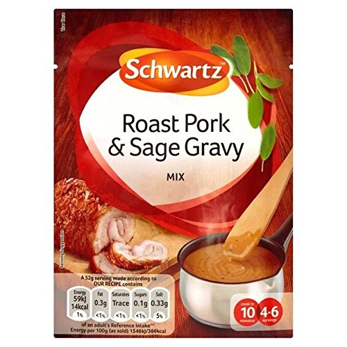 Schwartz Carne De Cerdo Y Salsa De Salvia Bolsita 25g: Amazon.es: Alimentación y bebidas