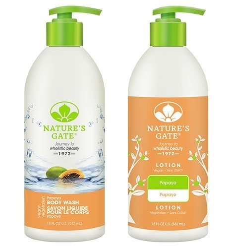 Nature's Gate All Natural Organic Herbal Papaya Lotion Cream