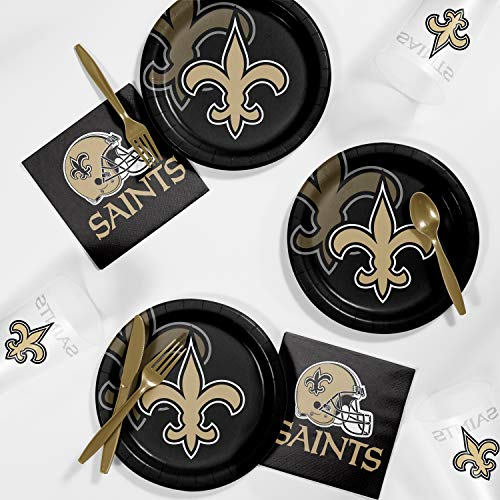 (Creative Converting New Orleans Saints Tailgating)