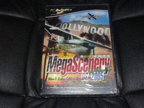 Megascenery Usa 2005 for Microsoft Flight Simulator 2004 New Version 2 (Aviator For Sale)