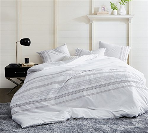 (Byourbed Villa Stitch Embroidered King Duvet Cover -)