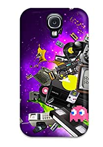 Galaxy S4 Case Cover With Shock Absorbent Protective QlsUgut3880PuWUt Case