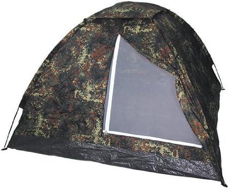 210 x 130 cm con mosquitera Camuflaje MFH Tienda Ligera Monodom Paquete Completo