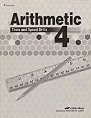 Paperback, Teacher Key, Traditional Arithmetic Series, to be used in conjunction with Arithmetic 4