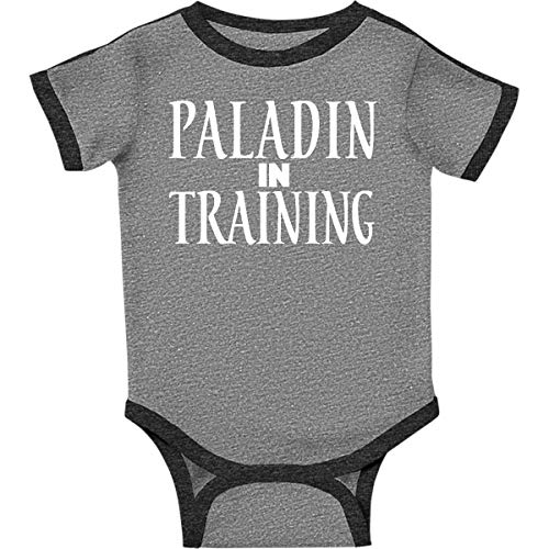 inktastic - Paladin in Infant Creeper 6 Months Ringer Heather and Smoke 26e64