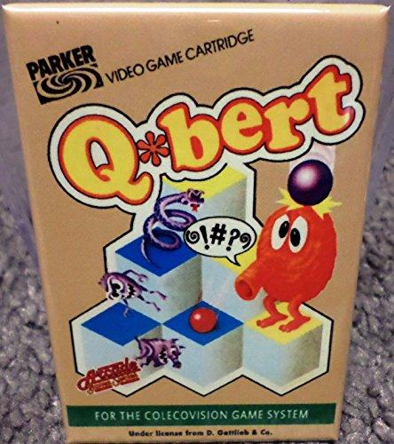 Q Bert Colecovision Vintage Game Box 2