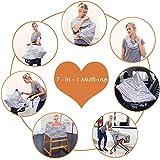 Breastfeeding Nursing Cover Carseat Canopy - Multi