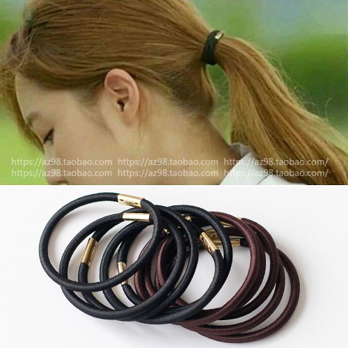 South Korean imports of hair accessories rubber band to replace the simple basis of horse hair ring hair rope rope late in rubber bands for women girl ()
