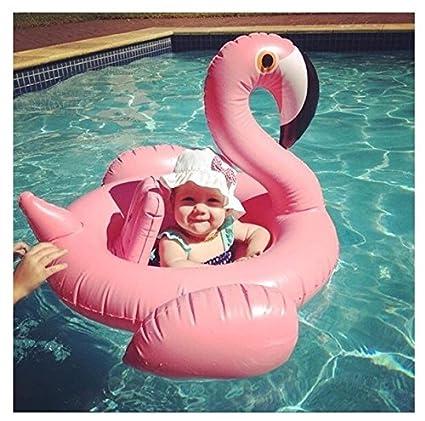 Outdoor Director Anillo de natación para niños White Swan/Flamingo Piscina Inflable Silla de Agua