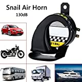 HOT SALE Waterproof Snail Air Horn Siren Loud 130dB For 12V Universal Truck Motorcycle