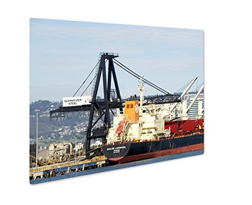 ashley-giclee-metal-panel-print-bulk-carrier-hanjin-liverpool-docked-at-the-port-of-oakland-8x10