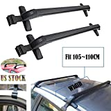 f150 roof rack - 2017 New Universal Car Top Luggage Cross Bars Roof Rack Lockable Anti-Theft Design - Size 105CM x 5CM x 7CM