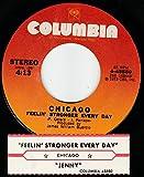 45vinylrecord Feelin Stronger Every Day/Jenny (7