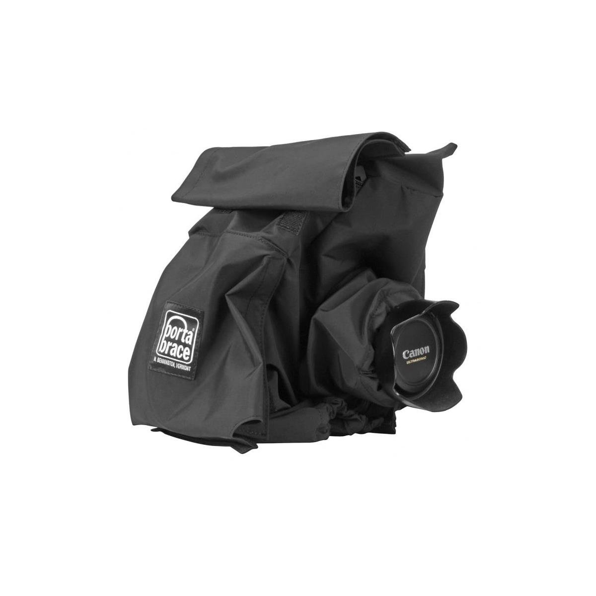 PortaBrace RS-C100 Rain Cover, Cannon C-100, Black Rain Cover by PortaBrace