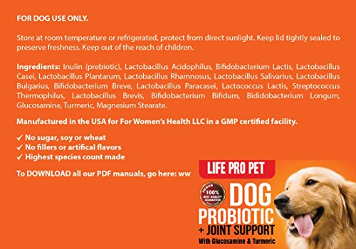 Dog Probiotic Powder Glucosamine Probiotics