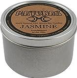 Matunas Soy Candle 6oz Tin- Jasmine