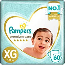 Fralda Pampers Premium Care Xg 60 Unidades, Pampers