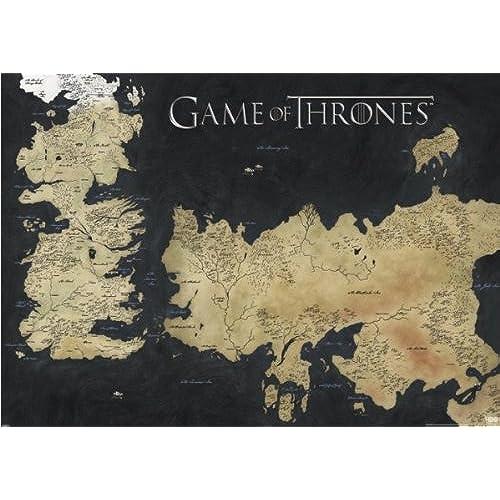 Map Of Westeros: Amazon.com