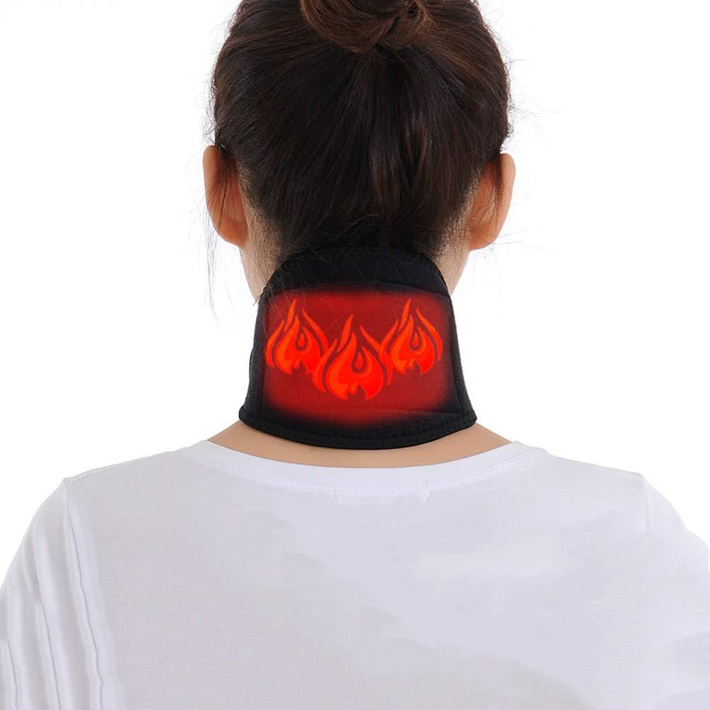 Infrarrojo Lejano Brace Para El Cuello Cable USB Calentado Tratamiento Fí sico Dolor De Cabeza Cuello Rí gido Transpirable Lavable Para Hombres Mujeres Espasmos Musculares Terapia De Alivio Del Dolor Wener