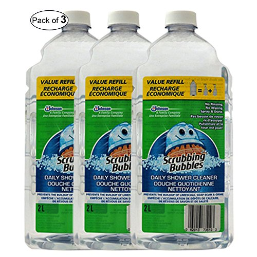 Scrubbing Bubbles Daily Shower Refill (2L) (Pack of 3)