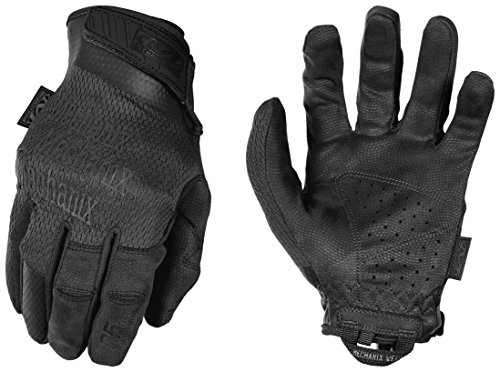 Mechanix Specialty 0.5 mm Covert Black Gloves, Large ()