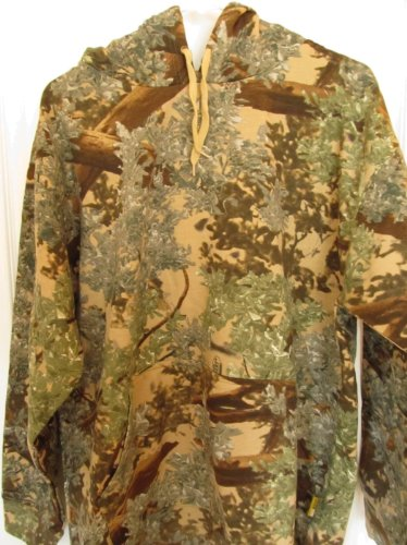 King's Camo Cotton Hunting Hoodie, Desert Shadow, Large ()