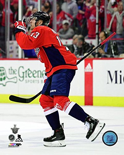 pretty nice 570d4 d2226 Amazon.com: Jakub Vrana Washington Capitals NHL Action Photo ...